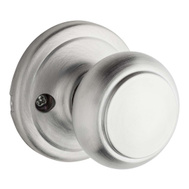 Weiser by Kwikset GA12T 26D MS Cameron Half Dummy Knob Pull Troy Satin Chrome