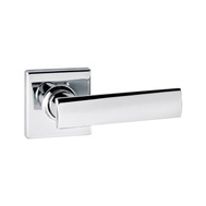 Weiser by Kwikset GCL3675 VDL26 SQT B Vedani Bed And Bath Privacy Leverset Square Back Polished Chrome