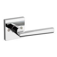 Weiser by Kwikset SPSL101 MRL26 SQT B Montreal Hall And Closet Passage Leverset Round Back Polished Chrome