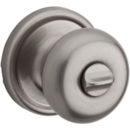 Weiser by Kwikset GA331 H26D B 6LS1R1 = 730H 26D Hancock Bed And Bath Privacy Lockset Satin Chrome