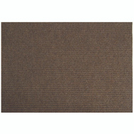 Lanart Rug Inc LLBR2436 Mat Floor Brown 24In X 36In