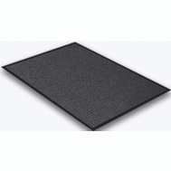 Lanart Rug Inc EDG2436 Mat Floor Charcoal 24In X 36In