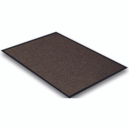 Lanart Rug Inc EBR1729 Mat Floor Brown 17In X 29In