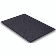 Lanart Rug Inc EBK1729 Mat Floor Black 17In X 29In