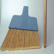 Supreme Enterprise LAB10 Lg Angle Broom W/Wood Handle