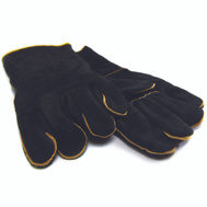 Onward 00528 Grill Pro Gloves Bbq Leather Blck Gr Pro