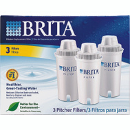Brita 35503 Pitcher Replacement Water Filter Cartridges - Pack Of 3