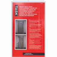 Task Tools T74517 QSR Heavy Duty Dust Containment Door Kit For Quick Support Rods