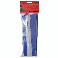 Task Tools T74545 QSR Quick Support Rod Zipper 3 Inch By 7 Foot 2 Zippers