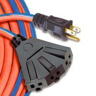 Southwire 54564101 Cord Ext 3out 14/3x10m Red/Blu