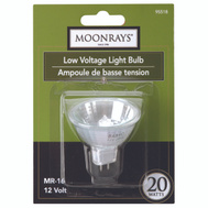 Coleman Cable 95518 Moonrays Bulb Halogen Mr16 Lv 2 Pin 20W