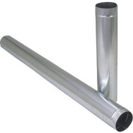 Imperial Manufacturing GV0394 7 By 24 26 Gauge Galvanized Furnace Pipe
