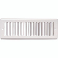Imperial Manufacturing RG1270A Grill Return Air 2.25X12in Wht