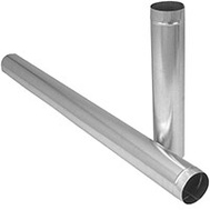 Imperial Manufacturing GV0374-A Furnace Pipe 30 Gauge 5 By 60 Inches Galvanized