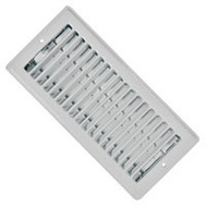 Imperial Manufacturing RG0133 Register Ceiling White 4X10in