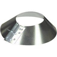 Imperial Manufacturing GV1378 6 Inch Galvanized Storm Collar