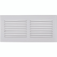 Imperial Manufacturing RG0368 Sidewall Grille 12 X 12 Inch White