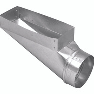 Imperial Manufacturing GV0650 Duct End Boot 3-1/4 X 10 X 4In