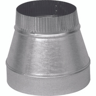 Imperial Manufacturing GV0812 Duct Reducer 6In - 5In 30Ga