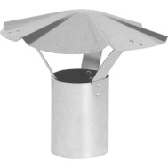 Imperial Manufacturing GV0589 6 Inch Galvanized Shanty Cap