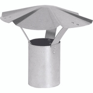 Imperial Manufacturing GV0591 8 Inch Galvanized Shanty Cap