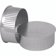 Imperial Manufacturing GV0733 4 Inch 26 Guage Round Plug