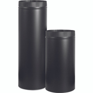 Imperial Manufacturing BM0110 5 Inch 24 Gauge Black Stove Pipe