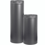 Imperial Manufacturing BM0121 Stove Pipe 24Ga 7X36in Black