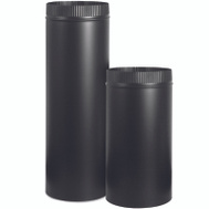 Imperial Manufacturing BM0220 Stove Pipe 24Ga 6X48in Black
