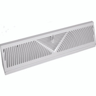 Imperial Manufacturing RG1626-A Register Baseboard 15in Wht