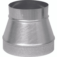 Imperial Manufacturing GV1269 Stovepipe Reducer Increaser 9 By 6 Inch