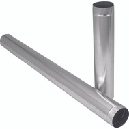 Imperial Manufacturing GV1753 6 By 12 Inch 26 Guage Galvanized Pipe