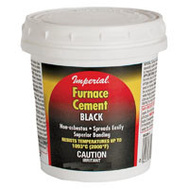 Imperial Manufacturing KK0304 Cement Furnace 32 Ounce Black