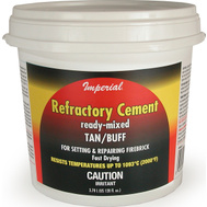 Imperial Manufacturing KK0308 Cement Refactory 128 Ounce Tan/Buf
