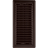 Imperial Manufacturing RG3302 4 By 10 Inch Oil Rubbed Bronze Contemporary Register