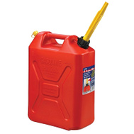 Scepter 3609 Jerry Gas Can 20 Liter 13 By 7-3/4 By 18-1/2 Inch Polyethylene