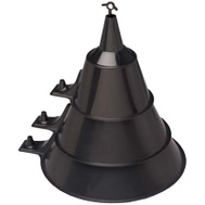 Scepter 03590 Funnel Assortment Blk 3Pk