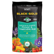 Sun Gro 1423003.CFL1.5P Flower & Vegetable Soil N&O 1.5Cf