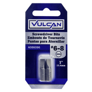 Vulcan 306272OR Bit Scrwdrv No6-8 Slot 1In 2 Pack