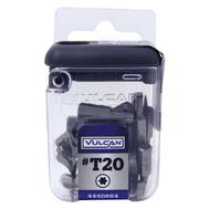 Vulcan 307431OR Bit Star T20 25Pc 1In 25 Pack