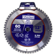 Vulcan 391281OR Thin Kerf Circular Saw Blade, 12 Inch By 60 Tooth