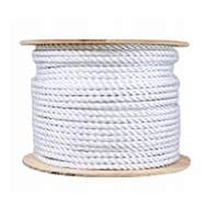 Mibro Group (The) 644501TV 1/2X250 WHT Braid Rope