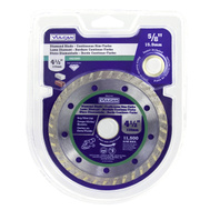 Vulcan 937341OR Turbo Continuous Rim Circular Saw Blade, 4-1/2In