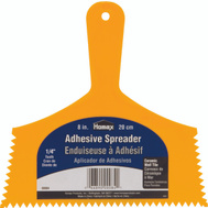 Homax 00084 8 Inch 1/4 Notch Inch Adhesive Spreader