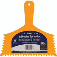 Homax 00085 8 Inch 3/8 Notch Inch Adhesive Spreader