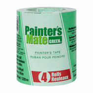 Shurtech 684275 Painters Mate Green Green Painter's Tape 1.41 Inch By 60 Yards Pack Of 4 Rolls