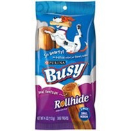 Purina 7000203080 Busy Bone Rollhide Busy Small/Med