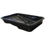 Shur Line 50087 9 Inch Black Plastic Disposable Tray