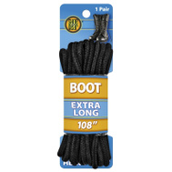 Westminster Pet 1N312-38 Lace Boot Round Blk 108In