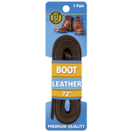 Westminster Pet 1N314-12 Lace Leather Brown 72In